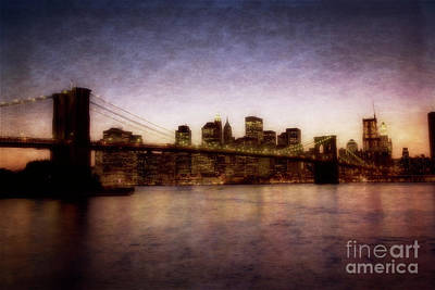 Photograph - Brookly To Lower Manhattan by Scott Kemper