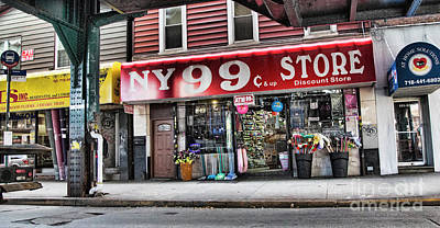 Photograph - Brooklyn 99 Cent Store by Chuck Kuhn