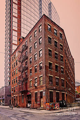 Photograph - Brooklyn Apartments by Franz Zarda