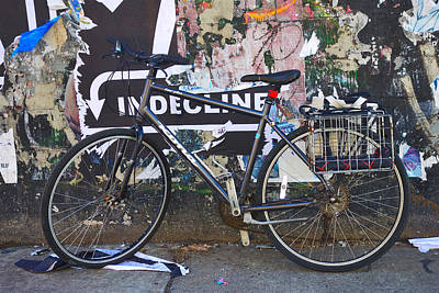 Photograph - Brooklyn Bike by Joan Reese