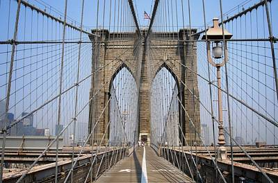 Photograph - Brooklyn Bridge 1 by Ferran Serra