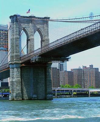 Photograph - Brooklyn Bridge 2 by Ron Kandt