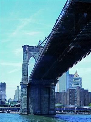 Photograph - Brooklyn Bridge 3 by Ron Kandt