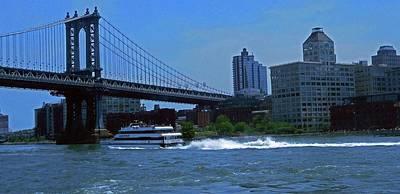 Photograph - Brooklyn Bridge 5 by Ron Kandt
