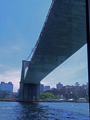 Photograph - Brooklyn Bridge 6 by Ron Kandt