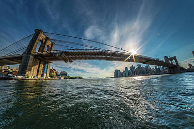 Photograph - Brooklyn Bridge by Bryan Xavier