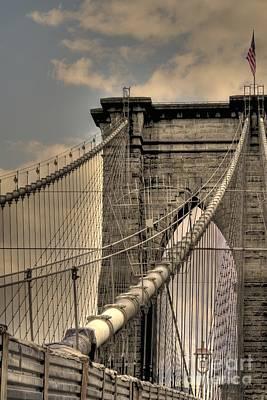 Photograph - Brooklyn Bridge by David Bearden