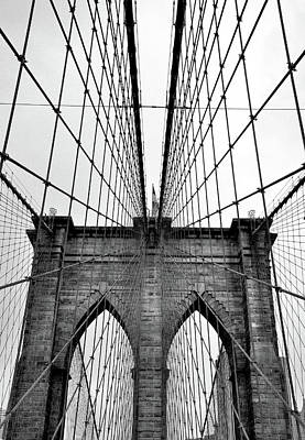 Photograph - Brooklyn Bridge by David Cabana