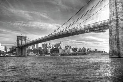 Photograph - Brooklyn Bridge  by David Pyatt