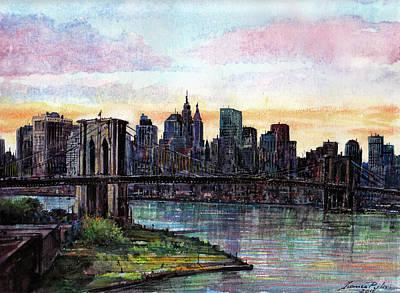 Brooklyn Bridge Original by Franco Puliti