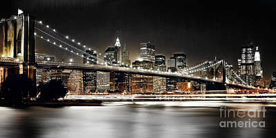 Brooklyn Bridge  Original by Gull G