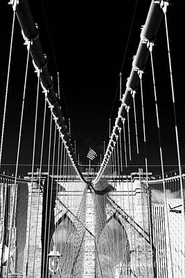 Photograph - Brooklyn Bridge Heights by John Rizzuto