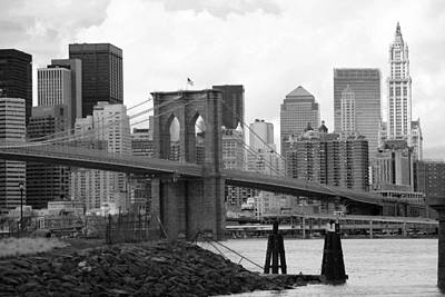 Chuck Kuhn Photograph - Brooklyn Bridge I by Chuck Kuhn