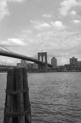 Photograph - Brooklyn Bridge  by Henri Irizarri