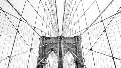 Photograph - Brooklyn Bridge by Jakob Dahlin