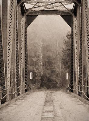 Mayberry Photograph - Brooklyn Bridge by JC Findley