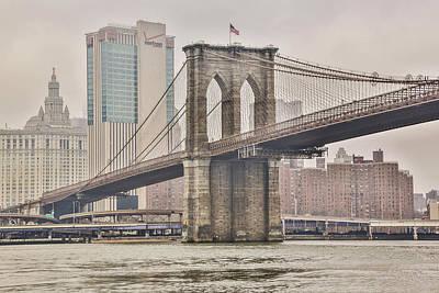 Photograph - Brooklyn Bridge by Jimmy McDonald