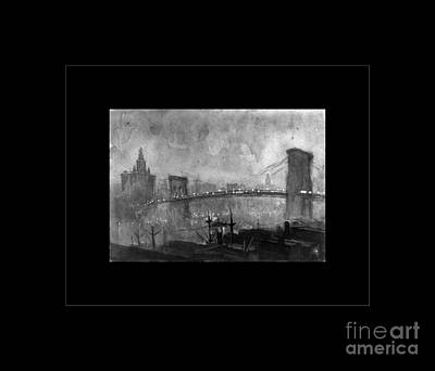 Photograph - Brooklyn Bridge by John Stephens
