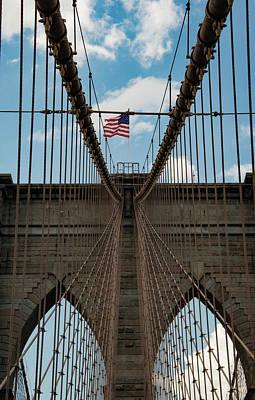 Photograph - Brooklyn Bridge by Joseph Yarbrough
