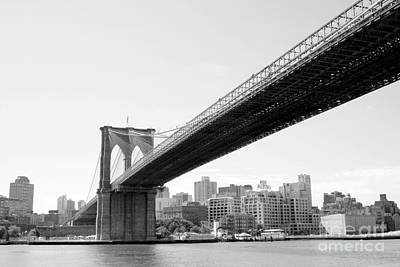 Photograph - Brooklyn Bridge by Julie Lueders