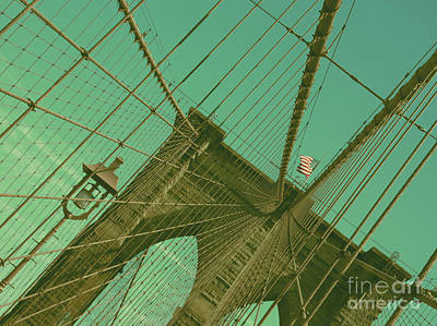 Photograph - Brooklyn Bridge by Louise Fahy