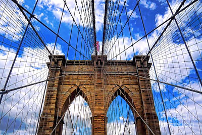 Photograph - Brooklyn Bridge by Mariola Bitner