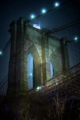 Photograph - Brooklyn Bridge by Mark Andrew Thomas