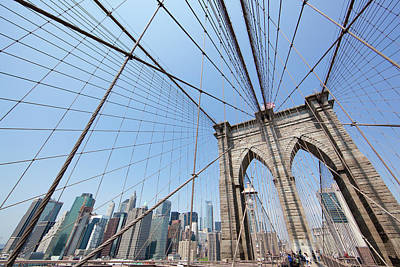 Photograph - Brooklyn Bridge New York City by John Magyar Photography
