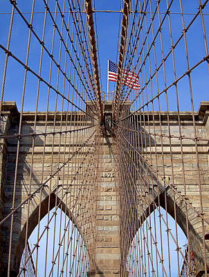 Photograph - Brooklyn Bridge by Newwwman