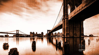 Brooklyn Bridge Ny 02 Original by Gull G