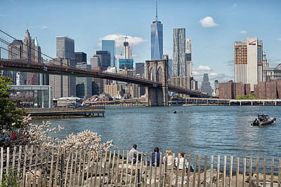 Photograph - Brooklyn Bridge Park by John Hoey