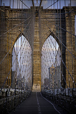 Photograph - Brooklyn Bridge by Ryan Smith