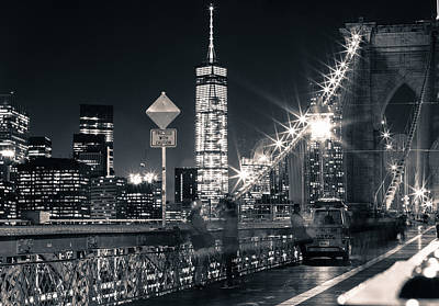 Photograph - Brooklyn Bridge by Silvia Bruno