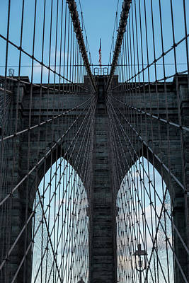 Photograph - Brooklyn Bridge by Steven Richman