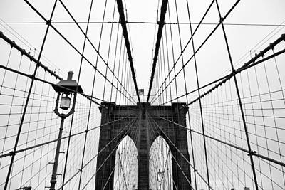 No People Photograph - Brooklyn Bridge by Thank you for choosing my work.