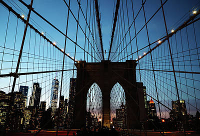 Photograph - Brooklyn Bridge  by The Artist Project