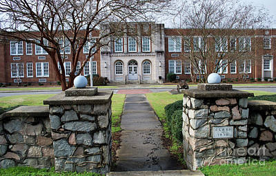Photograph - Brookland Cayce High by Skip Willits