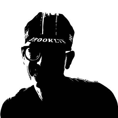 Bike Drawing - Brooklyn Cycling by Karl Addison