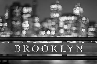 New York Signs Photograph - Brooklyn by Evelina Kremsdorf