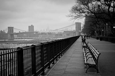 Brooklyn Height Photograph - Brooklyn Heights Promenade by Ezequiel Rodriguez Baudo