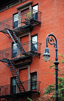 Photograph - Brooklyn Heights Typical Facade - New York City by Carlos Alkmin