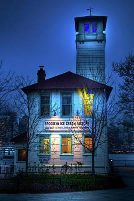 Photograph - Brooklyn Ice Cream Factory by Mark Andrew Thomas