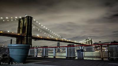 New York City Skyline Wall Art - Photograph - Brooklyn Manhattan Dockside by Peter J DeJesus