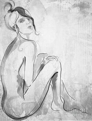 Brooklyn Nude  Art Print