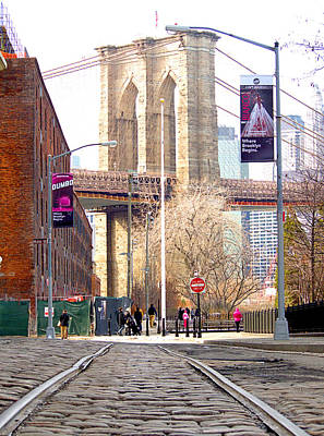 Photograph - Brooklyn Trolly Line by  Newwwman