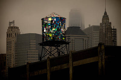 Photograph - Brooklyn Water Tower by Chris Lord