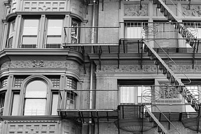 Nyc Photograph - Brooklyn Windows by Silvia Bruno