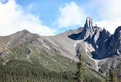 Art Print featuring the photograph Brooks Mountains by Adam Owen