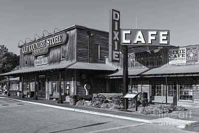 Photograph - Brooks Shaw's Old Country Store II by Clarence Holmes