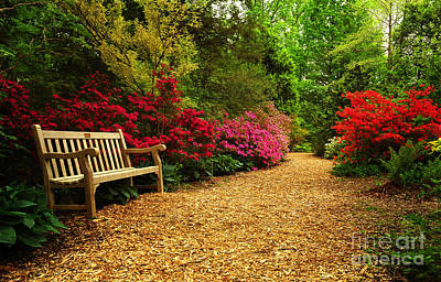 Brookside Gardens Art Print